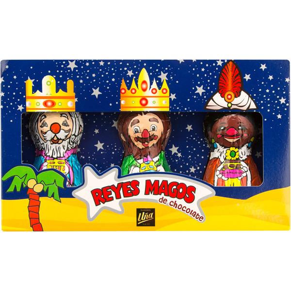 Reyes Magos de chocolate 90 grm.