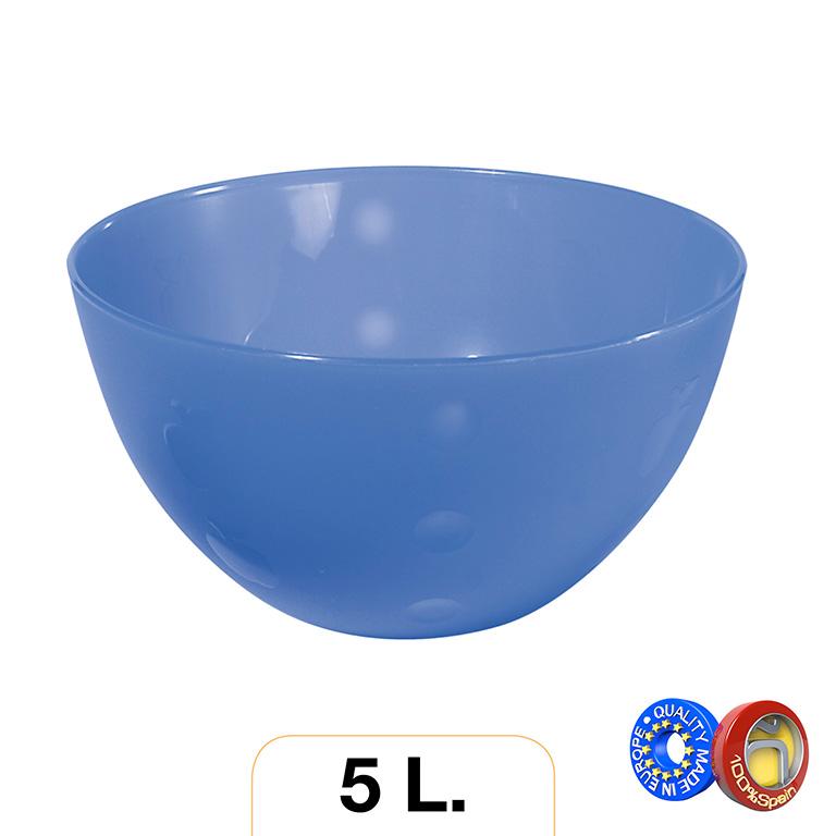 ENSALADERA PLASTICO COLORES SURTIDO 5l