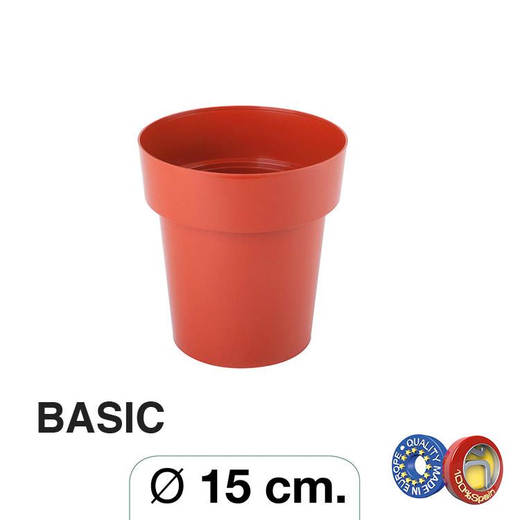 Maceta Ø 15 cm. Basic