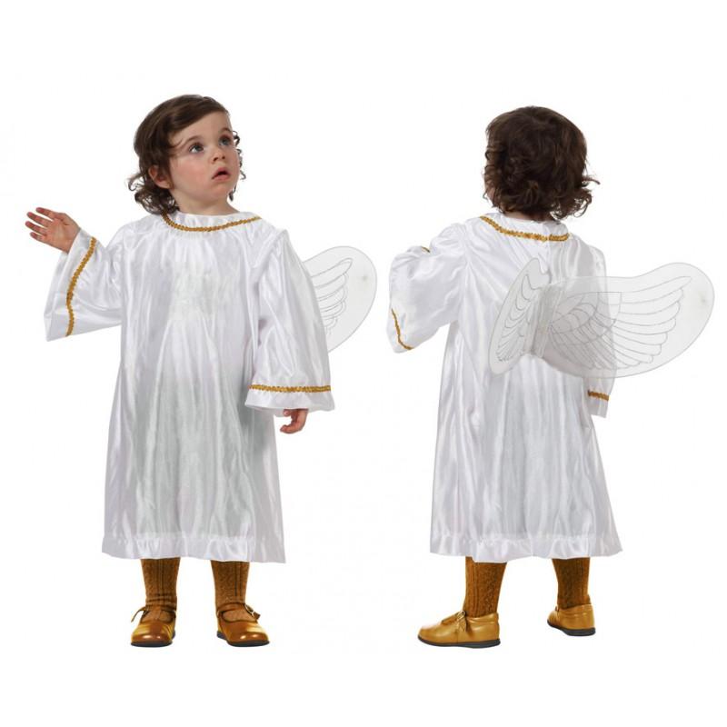 DISFRAZ DE ANGEL 0-6 MESES