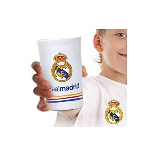 SET 2 VASOS REAL MADRID
