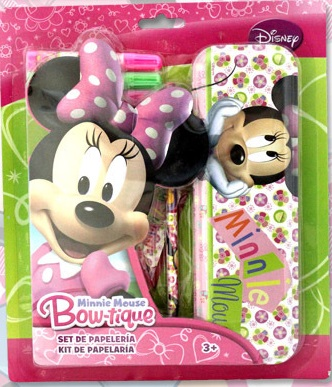 SET PAPELERIA MINNIE MOUSE DISNEY