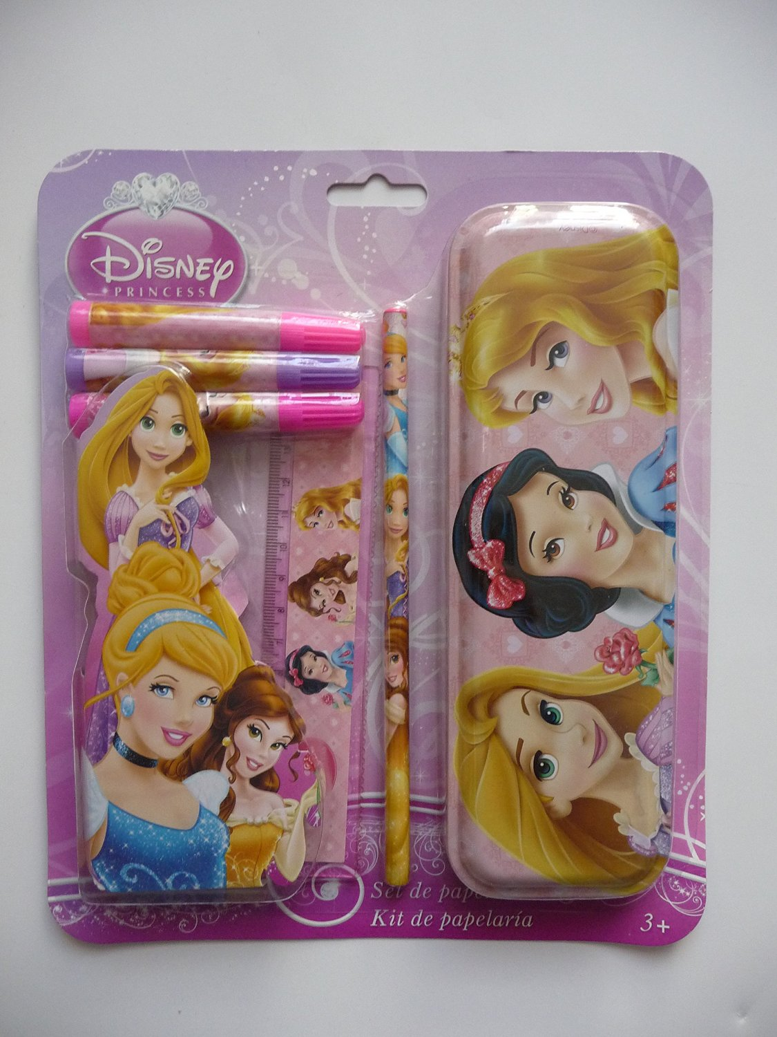 Set papeleria Princesas Disney