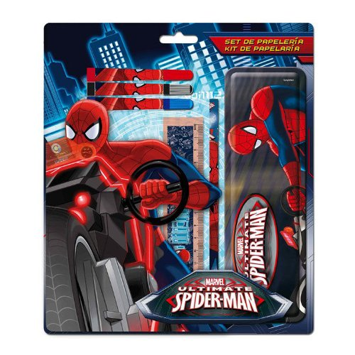 Set papeleria Spiderman