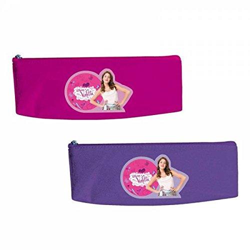 Portatodo Violetta Disney triangular