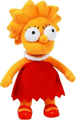 The Simpsons - Peluche Lisa, 22 cm