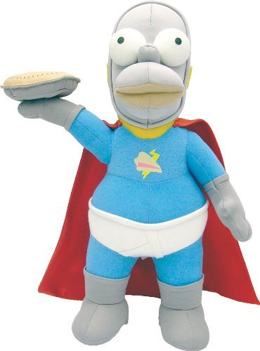 SIMPSONS - PELUCHE HOMER SUPER HEROE 37 cm