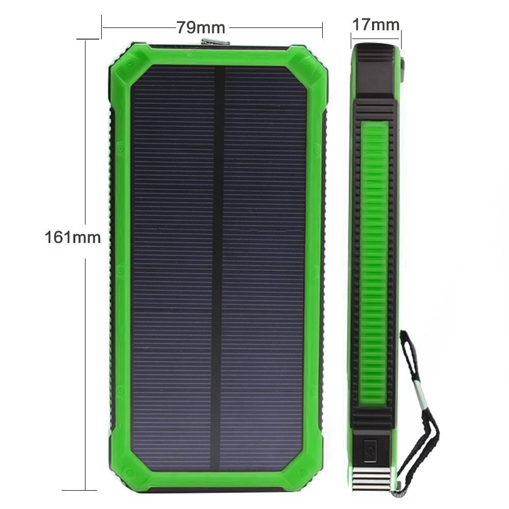 Cargador Solar portáti -  Backup Power Bank