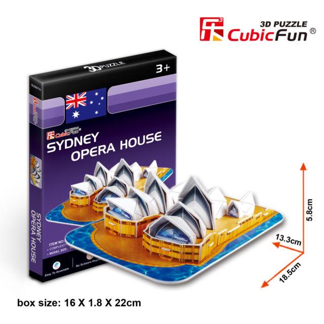 3D PUZZLE SYDNEY HOUSE AUSTRALIA
