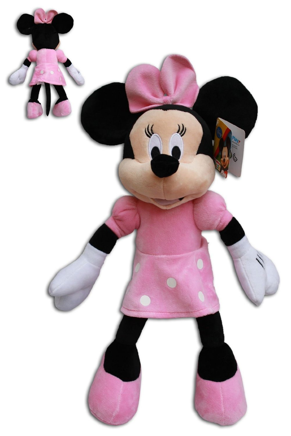 Minnie Mouse 40cm Muñeco Peluche Super Soft Raton Disney Junior Mickey Mouse Club House Alta Calidad
