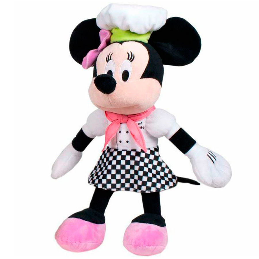 PELUCHE MINNIE DISNEY CHEF 30 cm