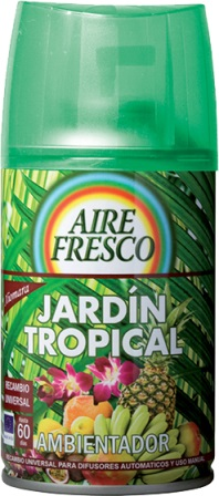 RECAMBIO AMBIENTADOR SPRAY JARDIN TROPICAL