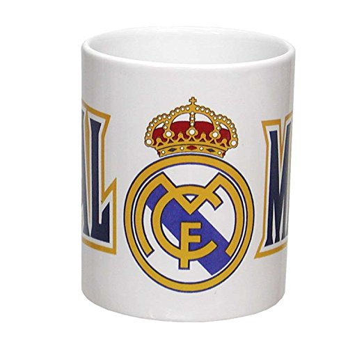 Taza Real Madrid Ceramica +300Ml.
