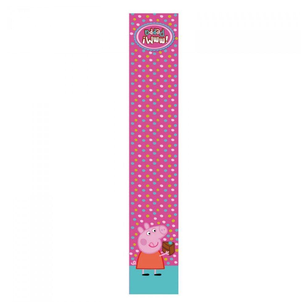 Peppa Pig  - Bufanda polar para niños, multicolor