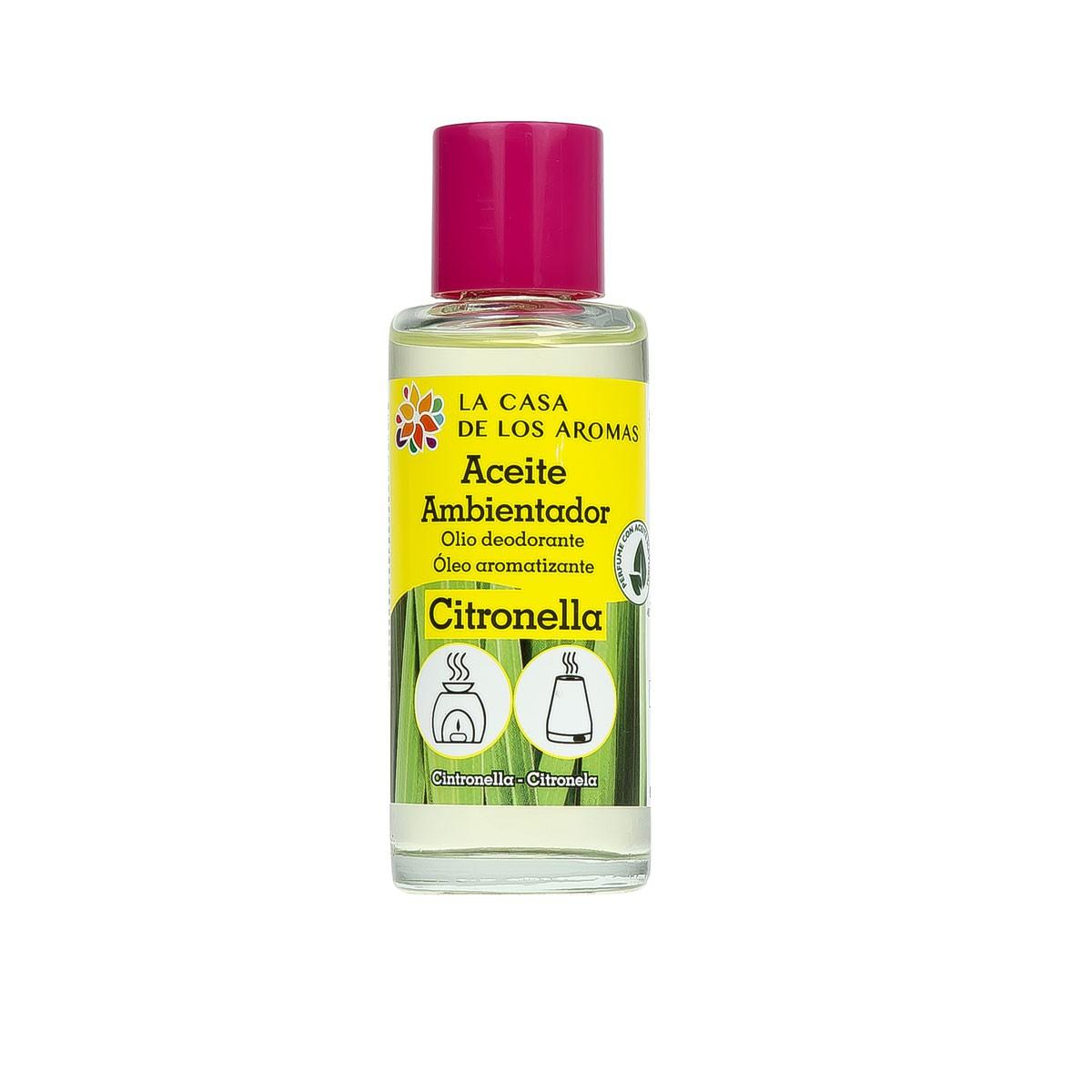 Aceite Esencial Ambientador Citronela 55ml