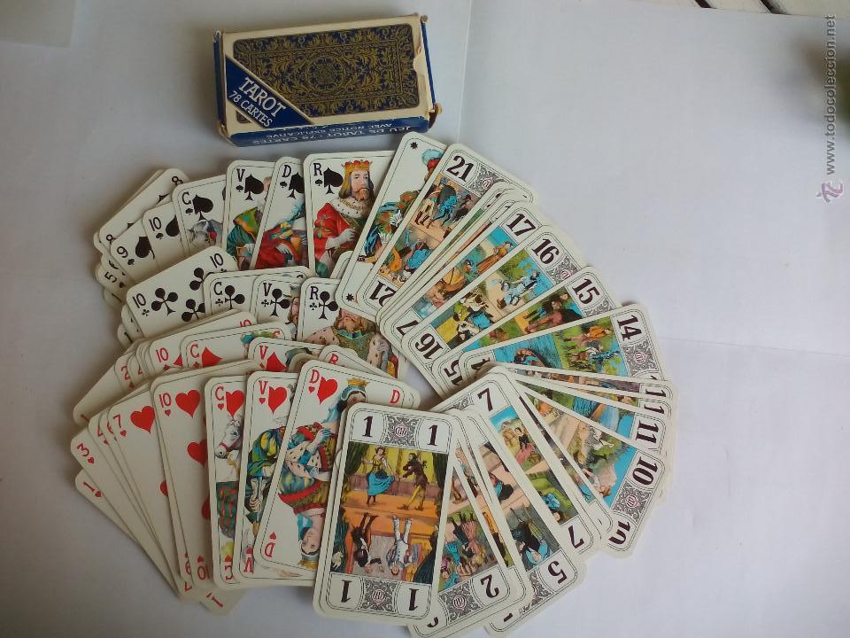 Baraja de Cartas del Tarot. 78 cartas