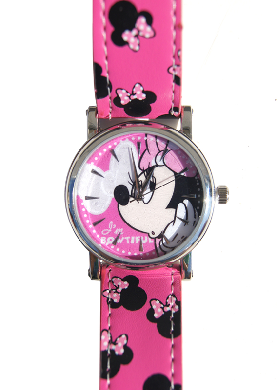 RELOJ PULSERA MINNIE DISNEY I´M BOWTIFUL