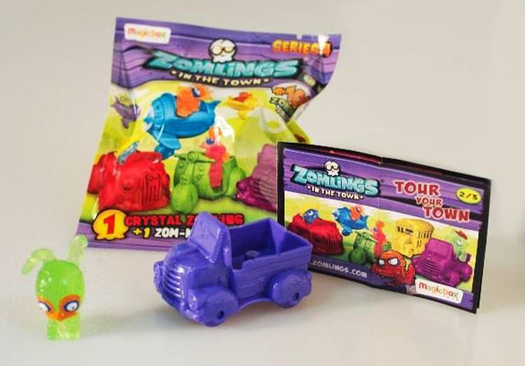 SOBRE ZOMLINGS SERIE 4 1 CRYSTAL ZOMLING+1 ZOM-MOBILE