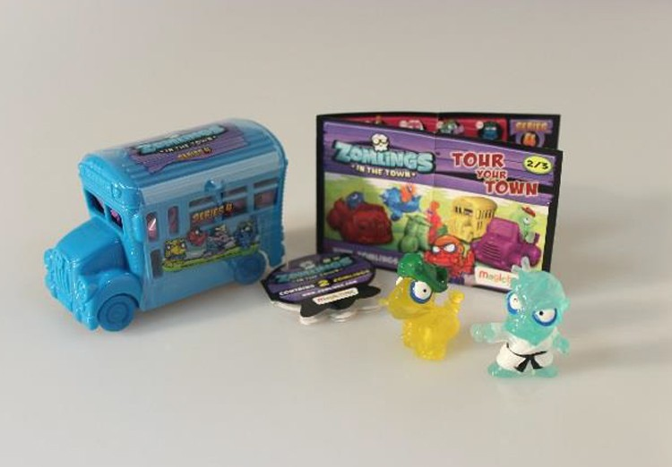 Zomlings Serie 4 Bus