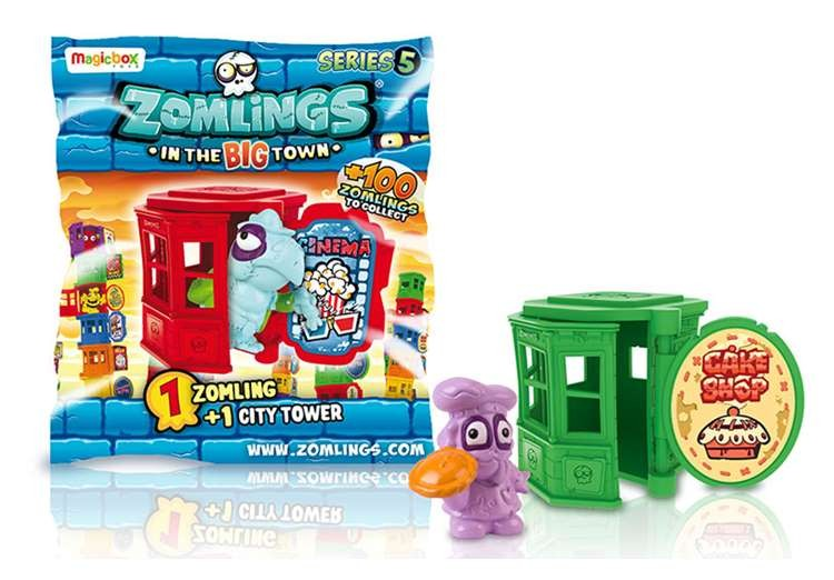 Zomlings Pack Torre  - SERIE 5