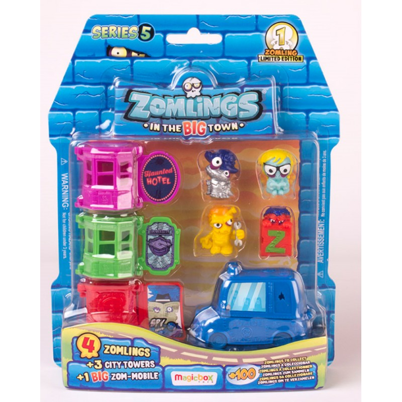 BLISTER ZOMLINGS ZOM-MOBILE - SERIE 5
