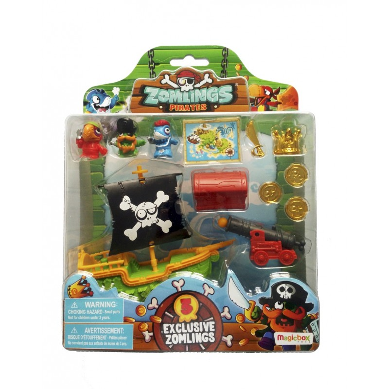 ZOMLINGS BLISTER PIRATA - SERIE 5