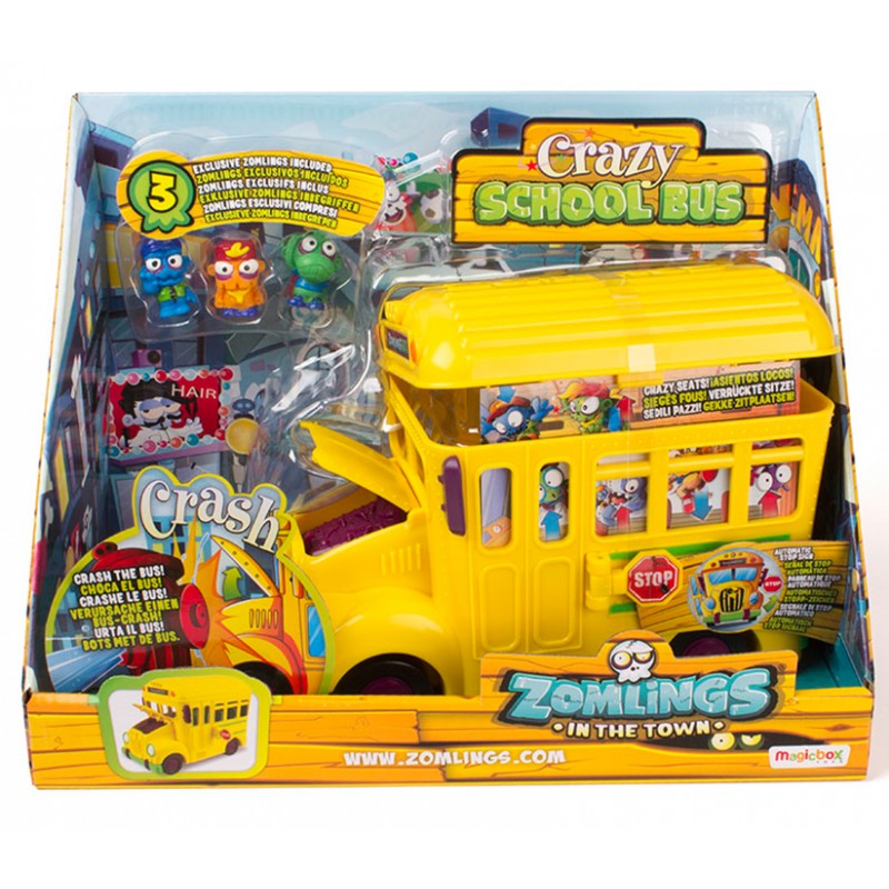 ZOMLINGS CRAZY SCHOOL BUS - SERIE 5