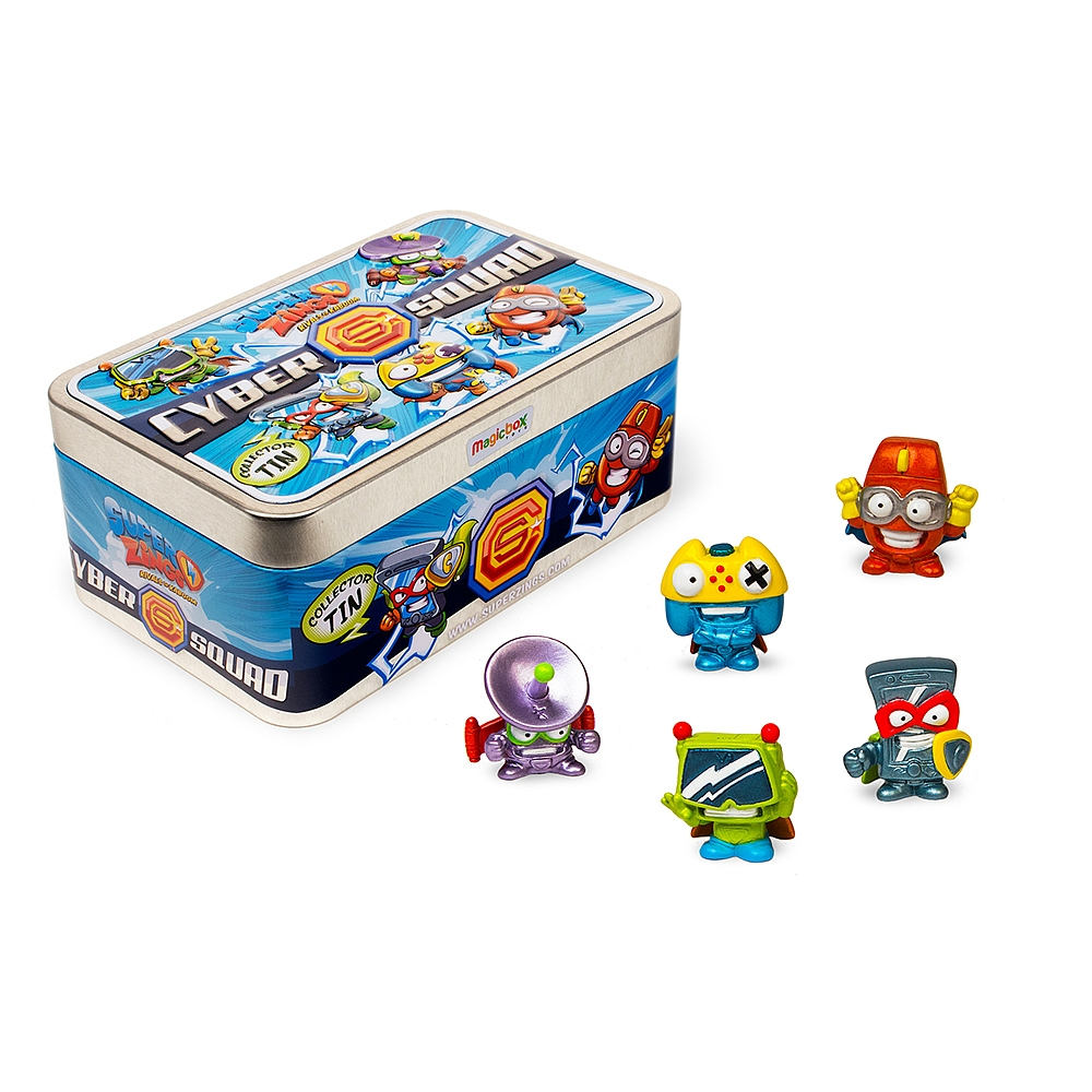TIN CYBER SQUAD SUPERZINGS SERIE 2