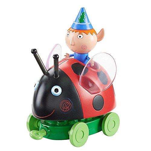 Ben y Holly - Vehículo y figura Frog Push - Along