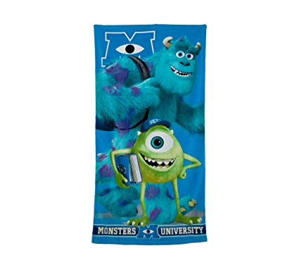 TOALLA PLAYA MONSTERS UNIVERSITY