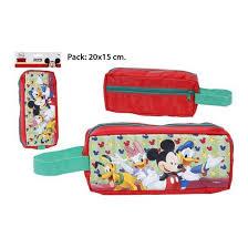 Portatodo Escolar Mickey y sus Amigos