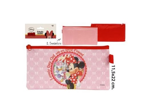 ESTUCHE ESCOLAR MINNIE