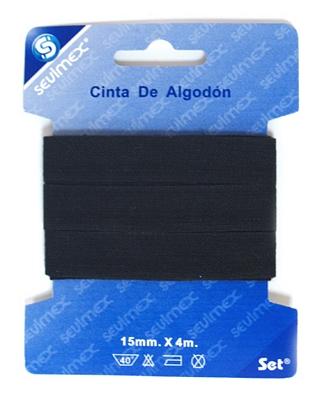 CINTA DE ALGODON 15mmx 4m