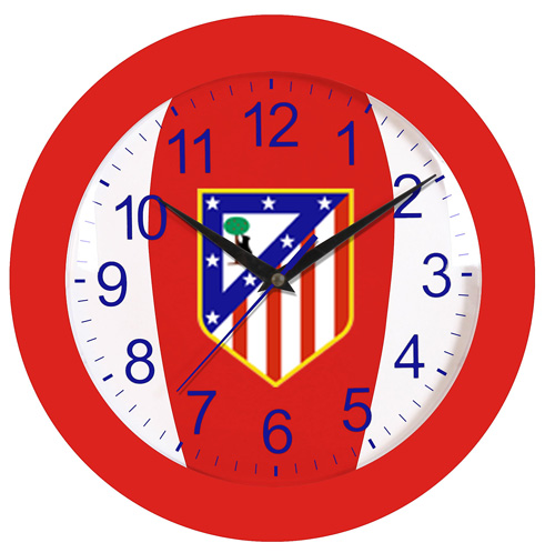 RELOJ DE PARED 30CM ATLETICO DE MADRID