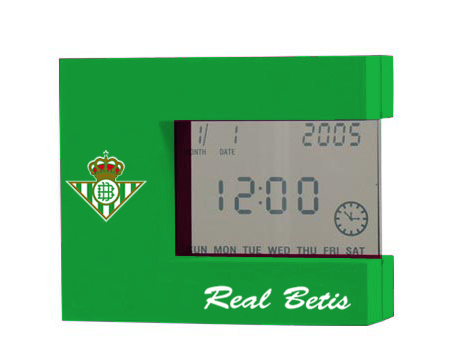 DESPERTADOR DIGITAL REAL BETIS 706789