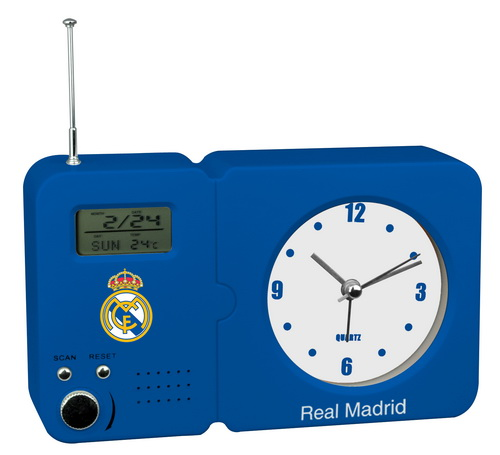 RADIO DESPERTADOR 707717 REAL MADRID