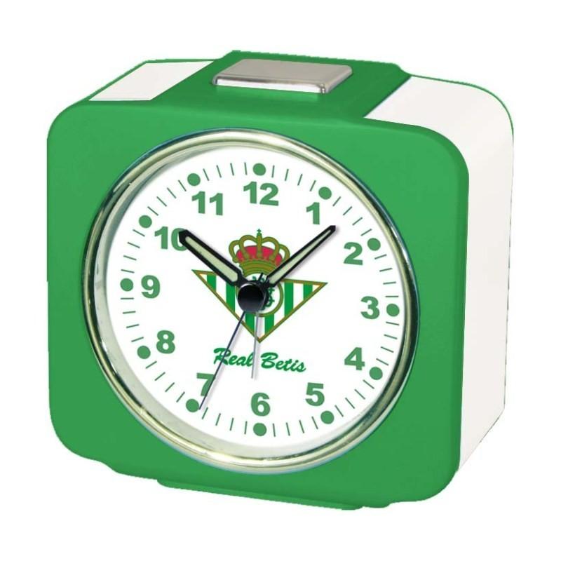 Despertador Cuadrado Real Betis