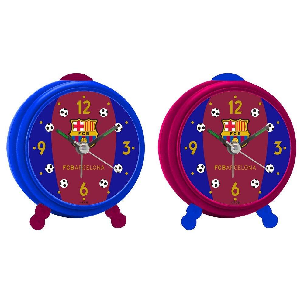 Despertador redondo FC Barcelona