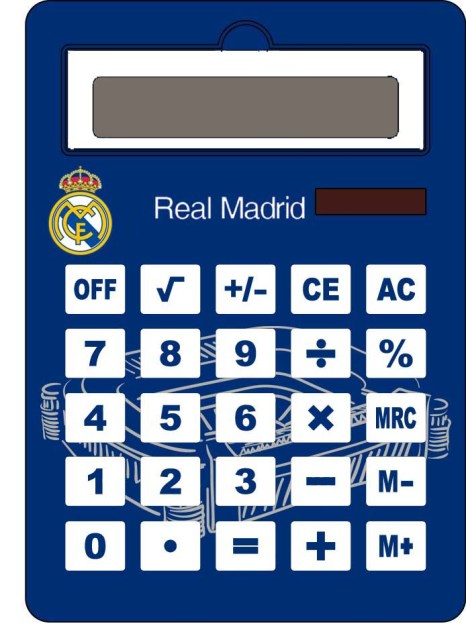 CALCULADORA JUMBO R.MADRID 709988