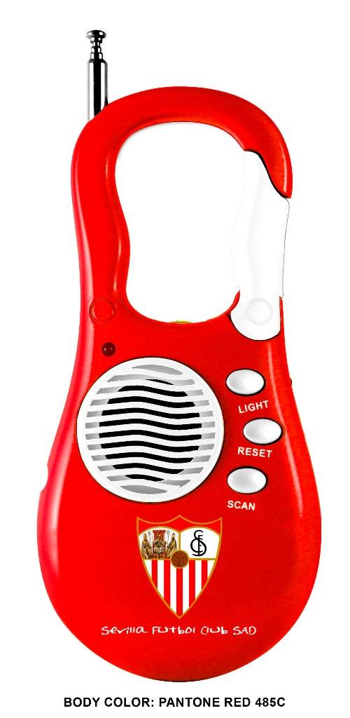 RADIO PORTATIL MOSQUETON SEVILLA 710342