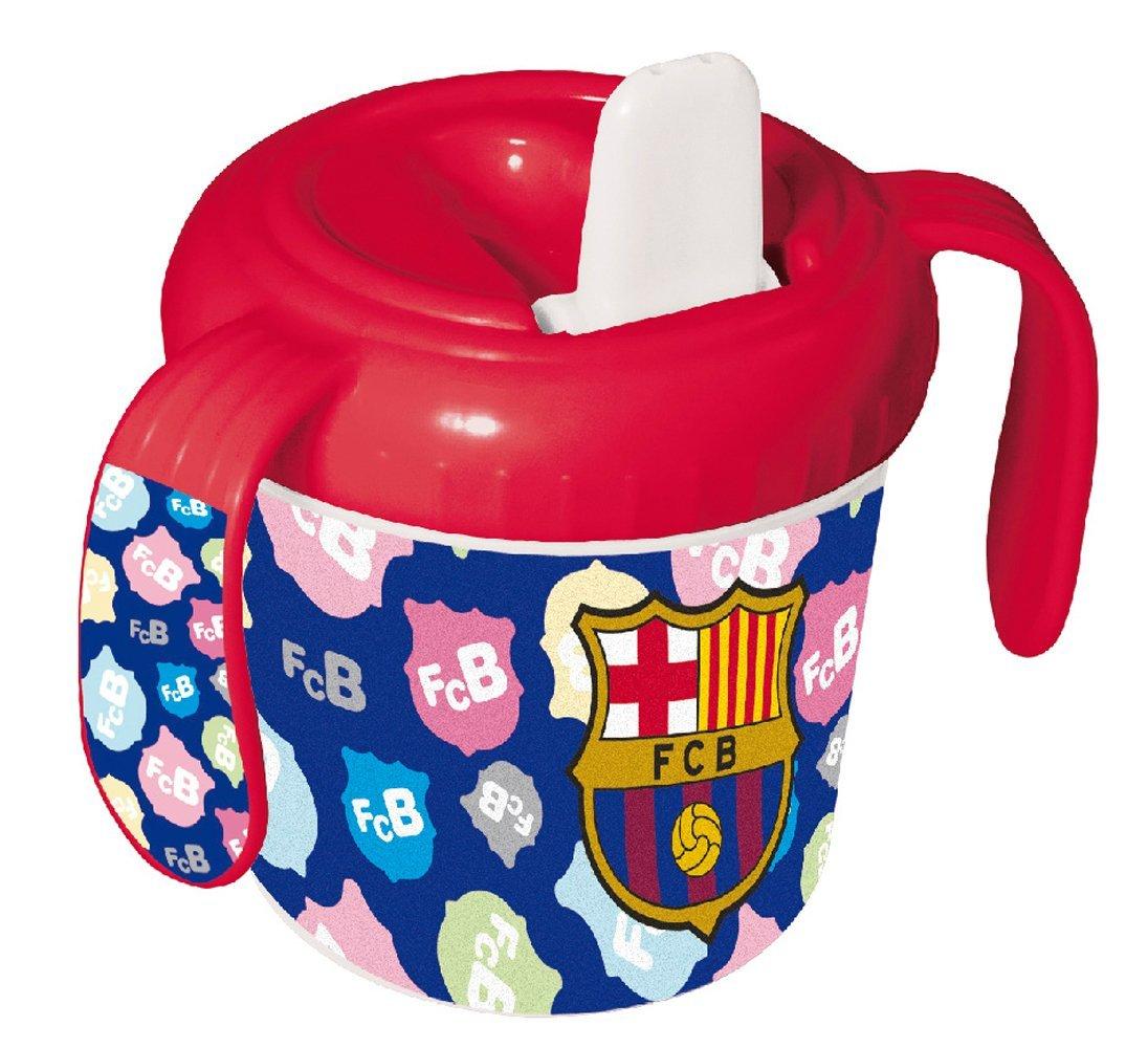 F.C. Barcelona - Taza bebé, 8 x 8 cm