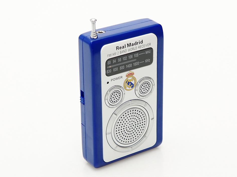 RADIO BOLSILLO REAL MADRID CIRCULOS