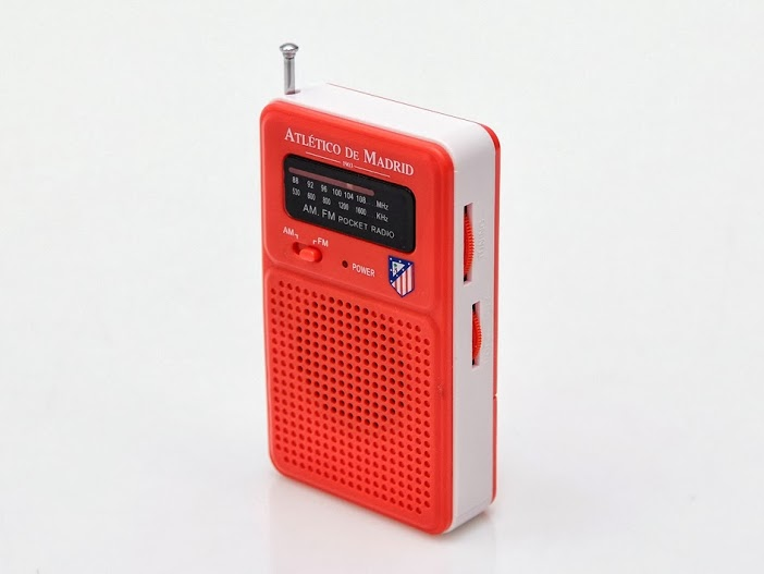 RADIO BOLSILLO ATLETICO DE MADRIDRID 714722