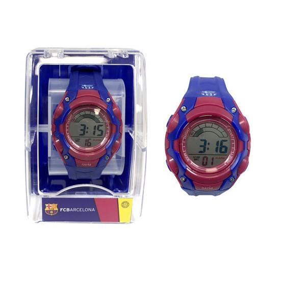 Reloj pulsera digital cadete FCBarcelona¬