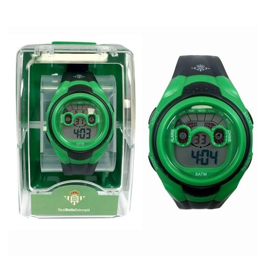Reloj pulsera digital cadete Real Betis