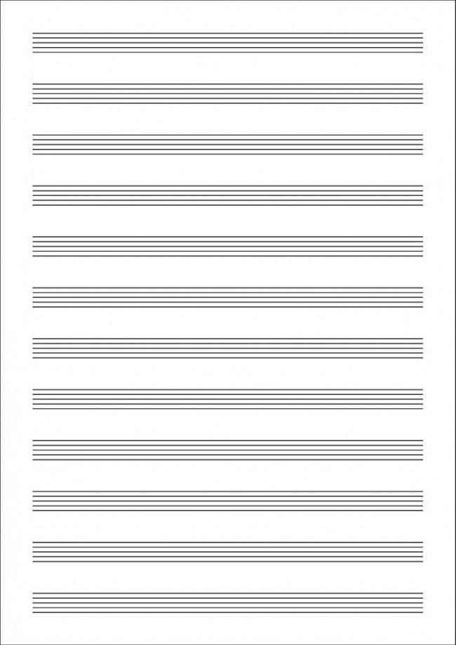 LIBRETA MUSICA A4 PARTITURAS 215x310
