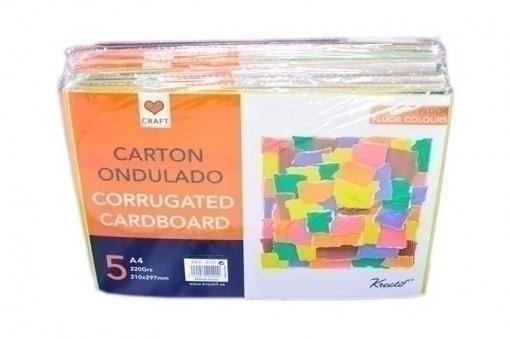 CARTON ONDULADO A4 220gr. 210x297mm