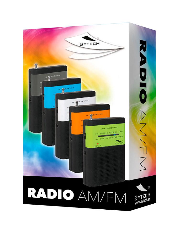 RADIO AM/FM ESTEREO DRADIO BOLSILLO SY1663