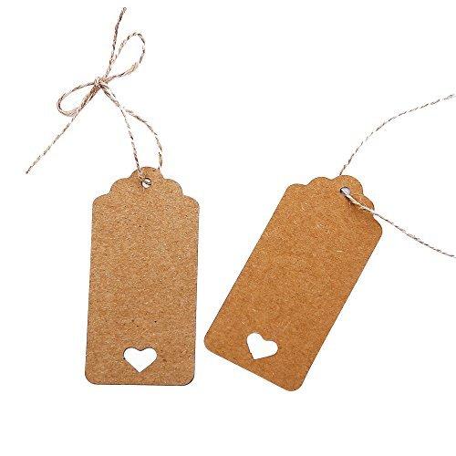 Etiquetas de Carton para regalos.