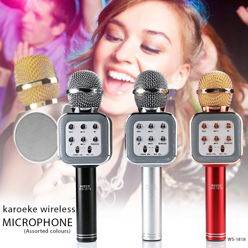 Microfono Speaker WS-1818